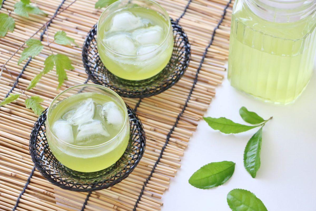 冷やし緑茶