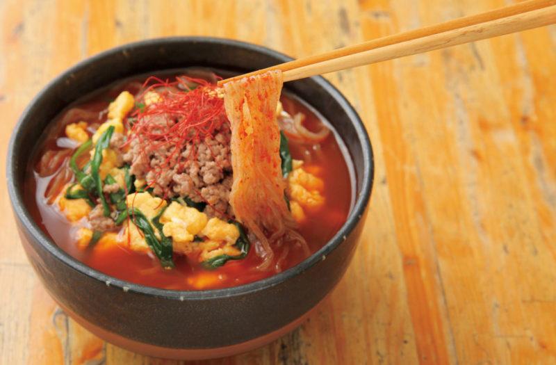 ヘルシー辛麺